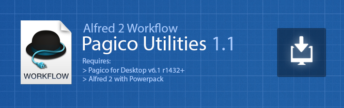 Download Pagico Utilities for Alfred 2
