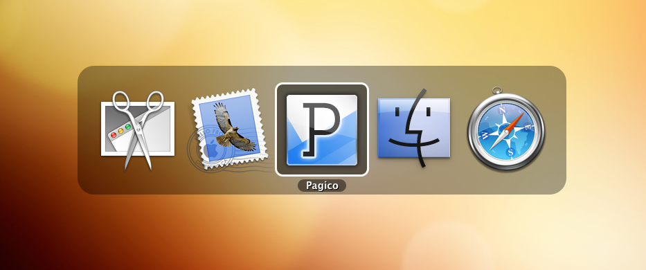how to move icon from desktop to dock mac