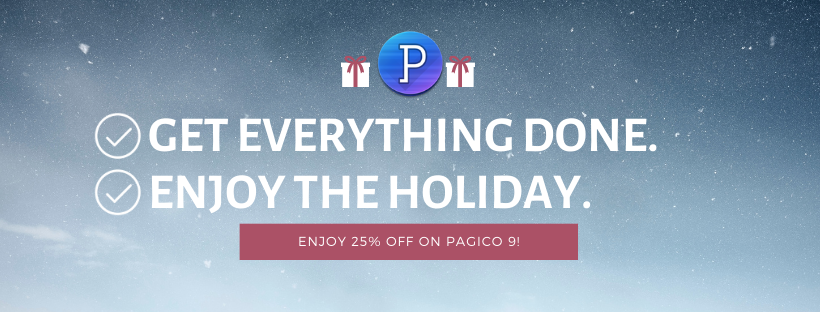25%-off on Pagico licenses!