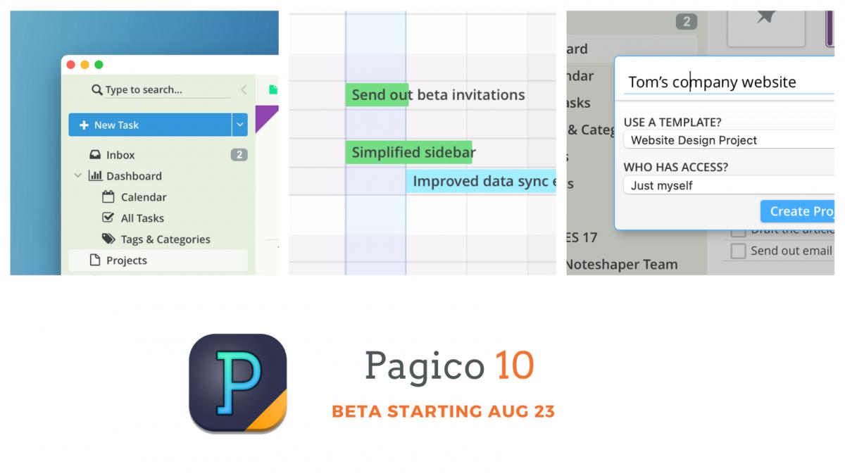 Pagico 10 - The next-gen work management platform for macOS, Windows and Ubuntu